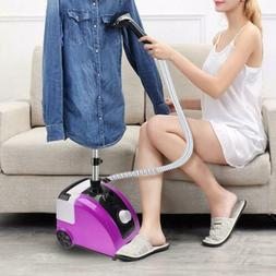 1700W 110V Garment Clothes Standing Fabric Steamer Wrinkle R