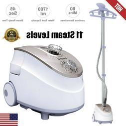 1800W 9-Level 2in1 Portable Stand Garment Steamer Clothes Fa