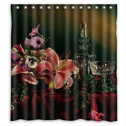 Eyeselect The Classic Still Life Art Painting Shower Drape O