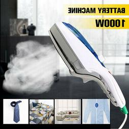 Electric Steam Iron Handheld Fabric Clothes Laundry Steamer