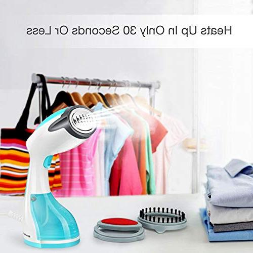 Beautural 1200-Watt Handheld Steamers, Wrinkle Remover, Clean Heat-up, 260ml for Home
