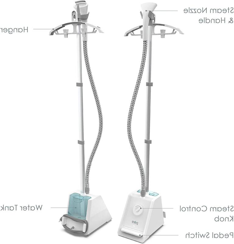 Pure Pro Upright Clothes Steamer Garment Hanger