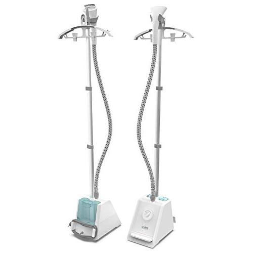 Pure Upright Garment Steamer 4 - Heats Seconds with Half-Gallon Water Tank for 1 Steaming Hanger Brush