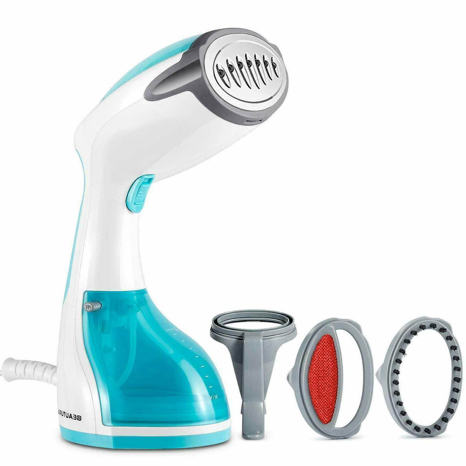 steamer 1200 watt for clothes with pump