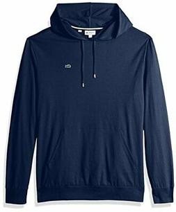 Lacoste Mens Long Sleeve Hooded Jersey Cotton T-Sh - Choose