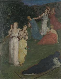 'Pierre Cecile Puvis De Chavannes Death And The Maidens ' Oi