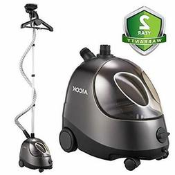 AICOK Steamer for Clothes, Large Transparent Water Tank, Dra