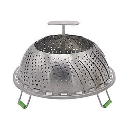 Vegetable Steamer Basket, Stainless Steel Collapsible Steame